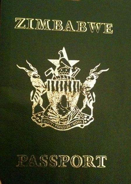 Passport of Zimbabwe